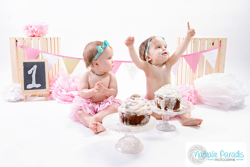 Nathalie Paradis Photographe ! The smash the cake
